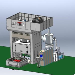 TSPC高温真空热成形机